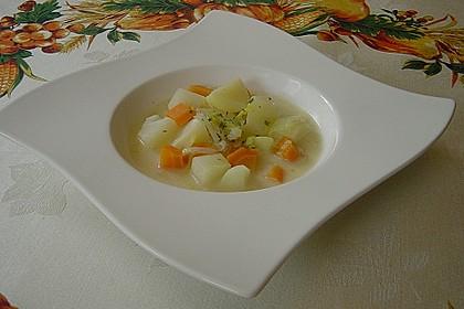 Kartoffeleintopf mit Gemüse
