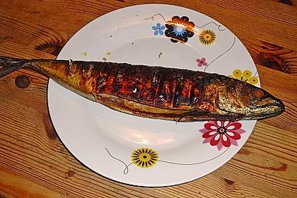 Gegrillte Makrele 2