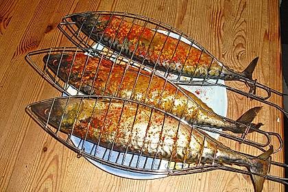 Gegrillte Makrele 1