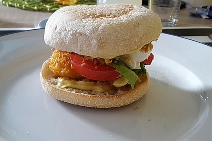 Hähnchen-Burger 1