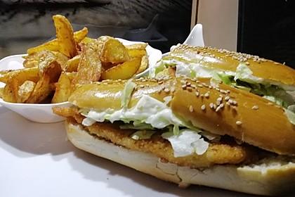 Hähnchen-Burger 3