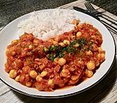 Kichererbsen-Curry Chana Masala (Bild)