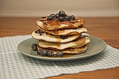 Blaubeer-Pancakes 1