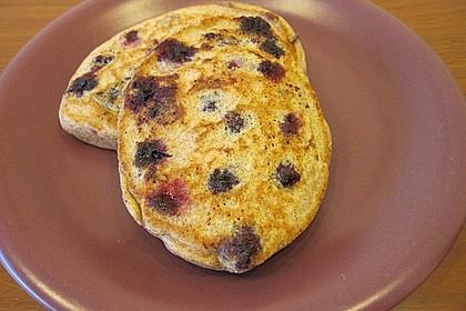 Blaubeer-Pancakes 3