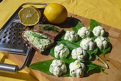 Bärlauch-Zitronen-Butter 2
