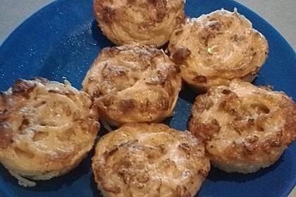 Spaghetti Carbonara-Muffins (Bild)
