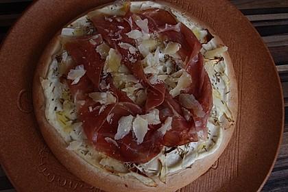 Spargelflammkuchen mit Serranoschinken 28