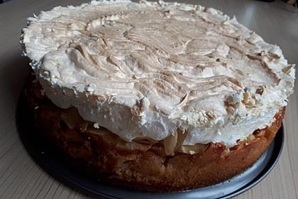 Apfel-Baiser Torte von Heike