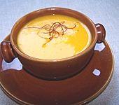 Fruchtige Kürbissuppe (Bild)