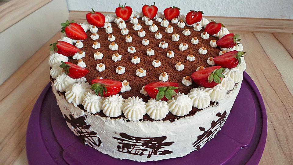 Schoko Erdbeer Traum Von Torte80 Chefkoch De