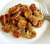 Champignons, paniert und gebraten (Bild)