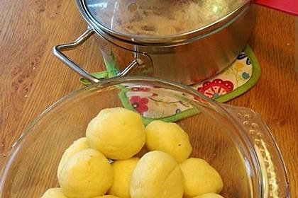 Schlesische Kartoffelklöße 7