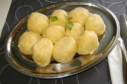 Schlesische Kartoffelklöße 3