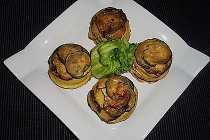 Lachs-Zucchini-Pastetchen
