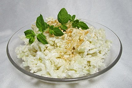 Blumenkohlsalat mit Joghurt-Mayo-Dressing (Bild)