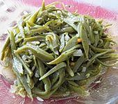 Grüne Bohnen-Salat mit Sherryessig (Bild)