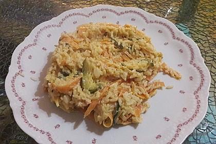 Zucchini-Möhren-Nudeln mit einer cremigen Sauce 25