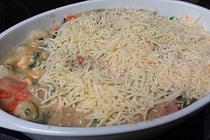 Blumenkohl-Brokkoli-Auflauf mit Kartoffeln