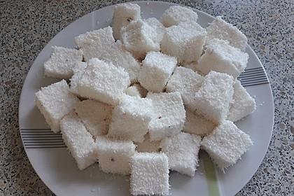 Marshmallows mit Kokosraspel
