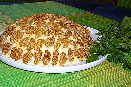 Schichtsalat-Ananas