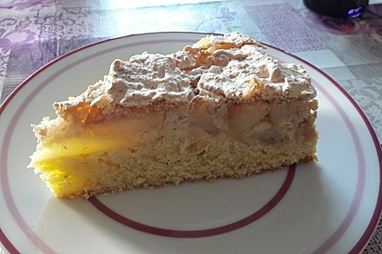 Makronen-Apfelkuchen (Bild)