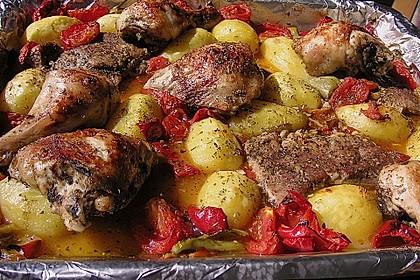 Griechische Fleischpfanne 2