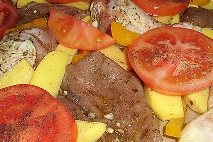 Griechische Fleischpfanne 17