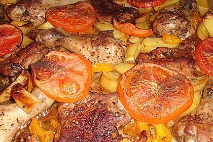 Griechische Fleischpfanne 8