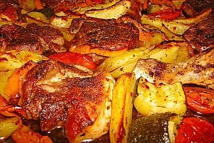 Griechische Fleischpfanne 7