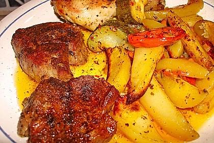Griechische Fleischpfanne 4