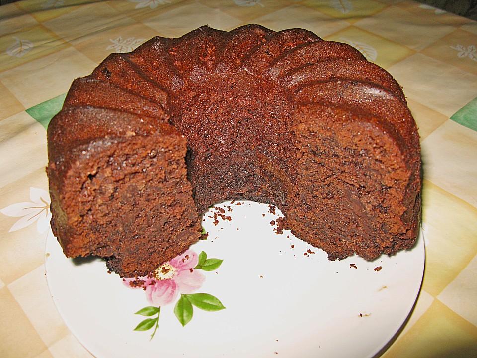 Schokoladen Nuss Kuchen Von Bross Chefkoch