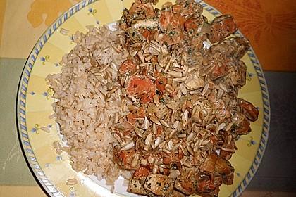 Süßkartoffel-Möhren Curry mit Tofu 2