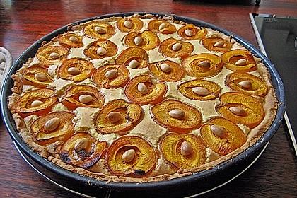 Tarte aux abricots mit Mandelflan