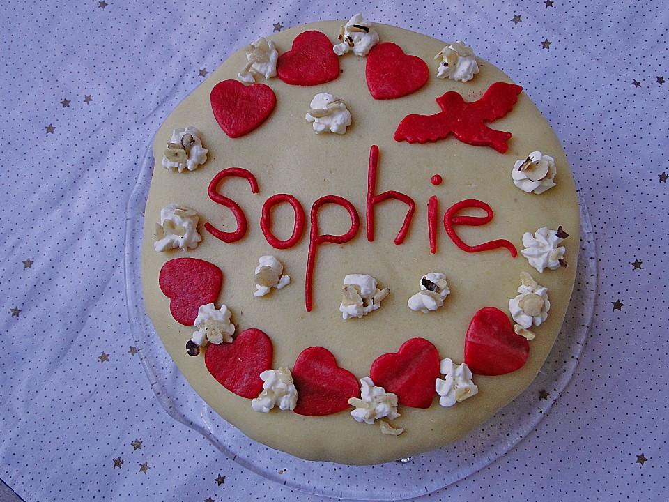 Marzipan Sahne Torte Von Hansili Chefkoch De