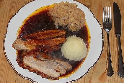 Bayrisches Krusten-Wammerl mit Sauerkraut  à la Maggler 8