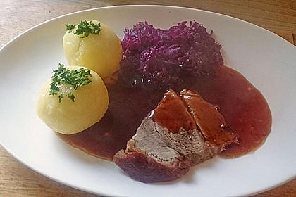 Bayrisches Krusten-Wammerl mit Sauerkraut  à la Maggler 9