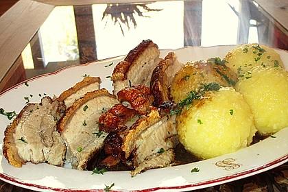 Bayrisches Krusten-Wammerl mit Sauerkraut  à la Maggler 5