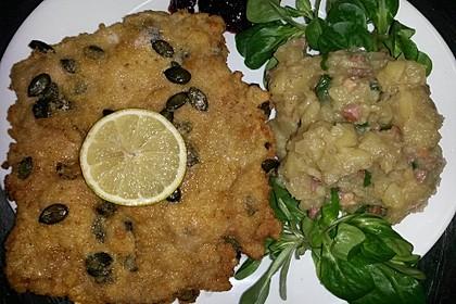 Cordon bleu mit Gemüse und Schafskäse gefüllt