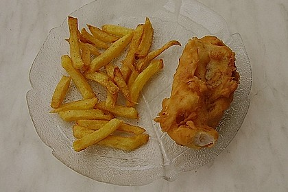 Fish 'n' Chips with Beer Batter