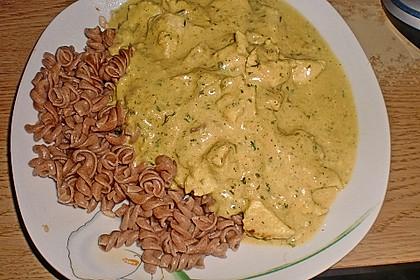 Puten-Senf Gulasch