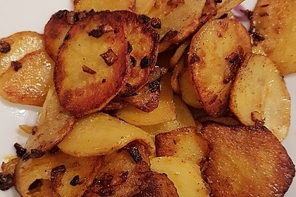Bratkartoffeln aus rohen Kartoffeln 6