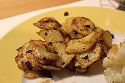 Bratkartoffeln aus rohen Kartoffeln 21