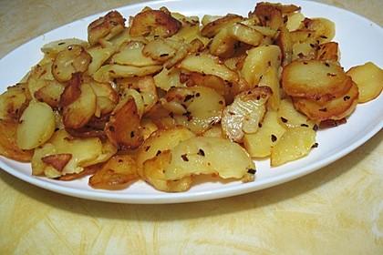 Bratkartoffeln aus rohen Kartoffeln 12