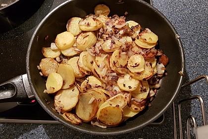 Bratkartoffeln aus rohen Kartoffeln 14