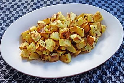 Bratkartoffeln aus rohen Kartoffeln 5