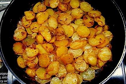 Bratkartoffeln aus rohen Kartoffeln 18