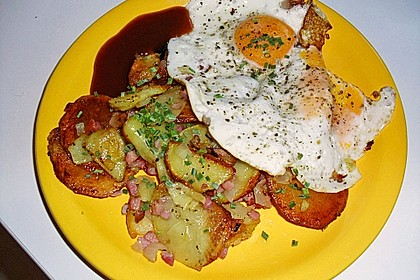 Bratkartoffeln aus rohen Kartoffeln 28