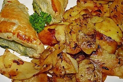 Bratkartoffeln aus rohen Kartoffeln 16