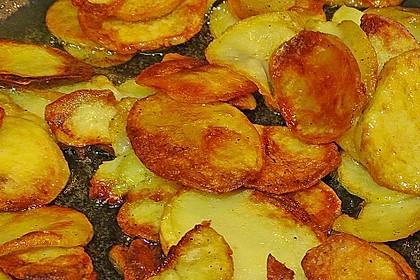 Bratkartoffeln aus rohen Kartoffeln 10