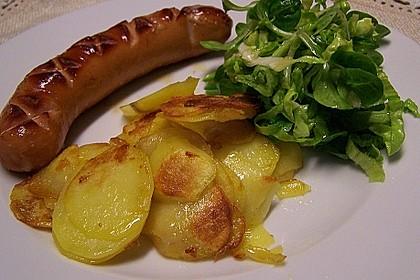 Bratkartoffeln aus rohen Kartoffeln 4
